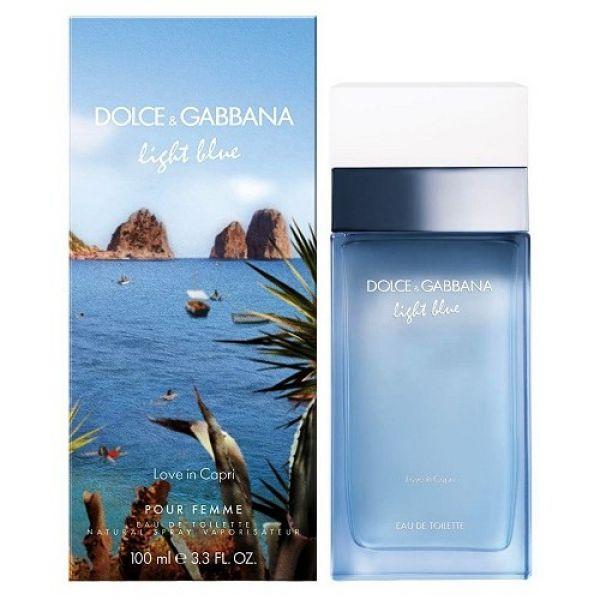 Dolce & Gabbana Light Blue Love in Capri тестер 100 мл