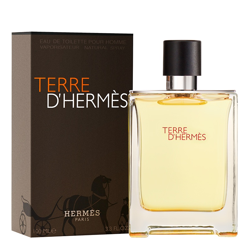 Terre d'Hermes 10 мл пробник (со спреем)