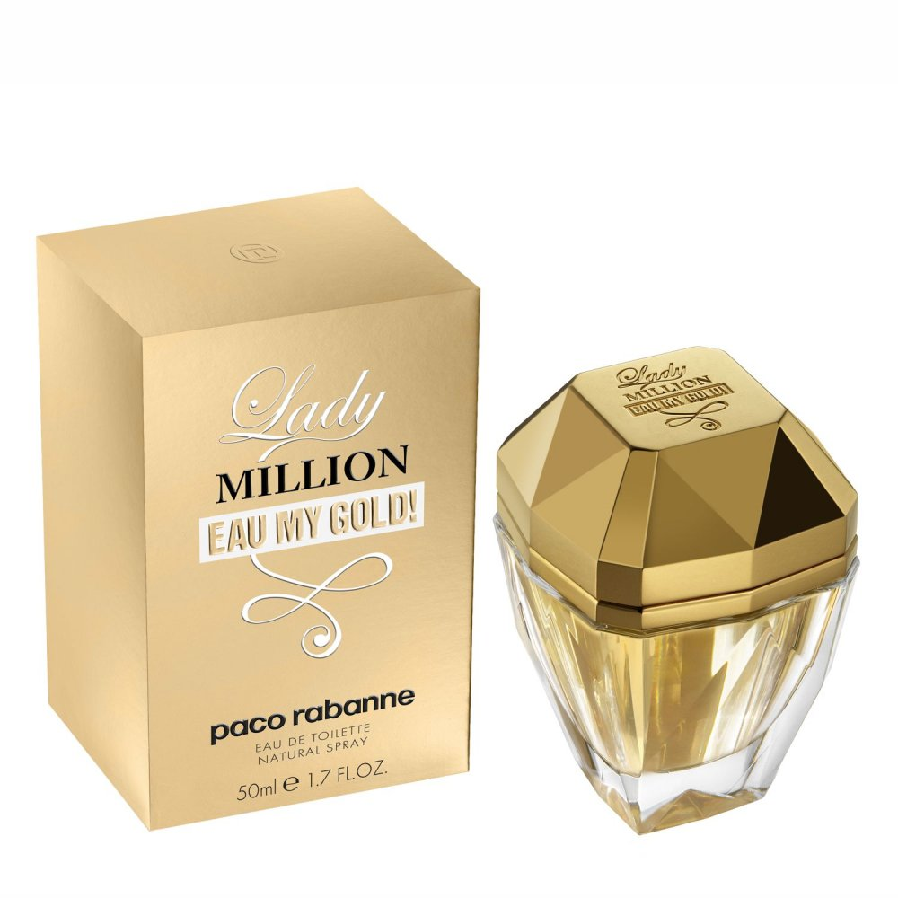 Paco Rabanne Lady Million Eau My Gold тестер 80 мл